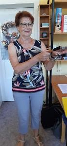 Gruppenleiterin Ingeborg